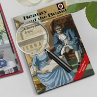 Personalised Beauty And The Beast Classic Ladybird Book