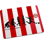 Personalised Brentford Evolution Mouse Mat