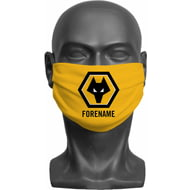 Personalised Wolves Crest Adult Face Mask