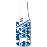 Personalised Birmingham City FC Patterned Bottle Shaped Bottle Opener