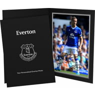Personalised Everton FC Jagielka Autograph Photo Folder