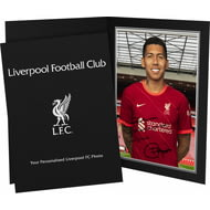 Personalised Liverpool FC Firmino Autograph Photo Folder