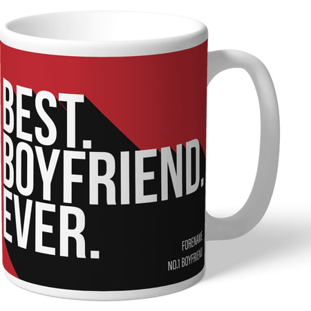 Personalised Middlesbrough Best Boyfriend Ever Mug