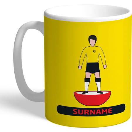 Personalised Watford Player Figure Mug