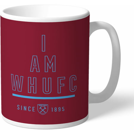 Personalised West Ham United I Am Mug