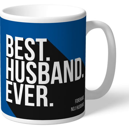 Personalised Birmingham City Best Husband Ever Mug