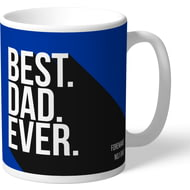 Personalised Brighton & Hove Albion FC Best Dad Ever Mug