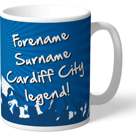 Personalised Cardiff City FC Legend Mug