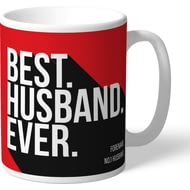 Personalised Liverpool FC Best Husband Ever Mug