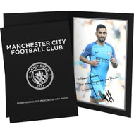 Personalised Manchester City FC Gundogan Autograph Photo Folder