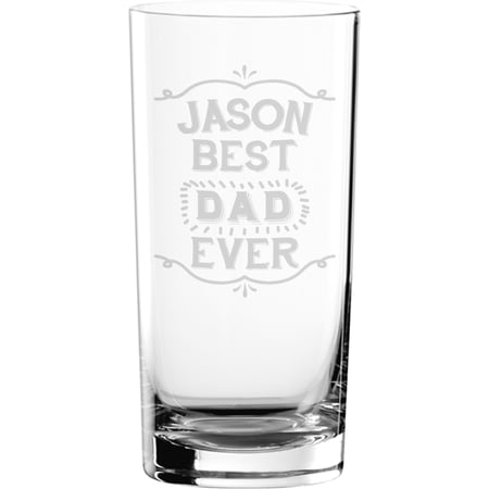 Personalised Best Ever Hi Ball Glass