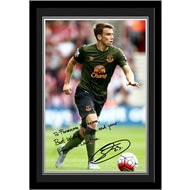 Personalised Everton FC Coleman Autograph Photo Framed