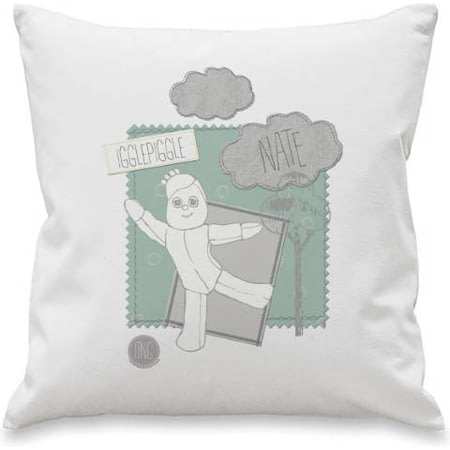 Personalised In The Night Garden Igglepiggle Stamp Cushion