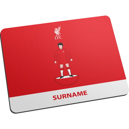 Personalised Liverpool FC Player Figure Mouse Mat