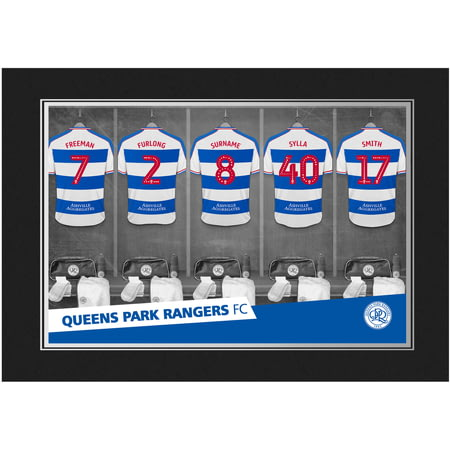 Personalised Queens Park Rangers FC 9x6 Dressing Room Photo Folder
