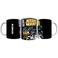 Personalised Star Wars Classic Comic Print Mug