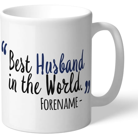 Personalised West Bromwich Albion Best Husband In The World Mug