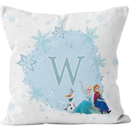 Personalised Disney Frozen Initial Cushion - 45x45cm
