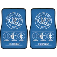 Personalised Queens Park Rangers FC Way Front Car Mats