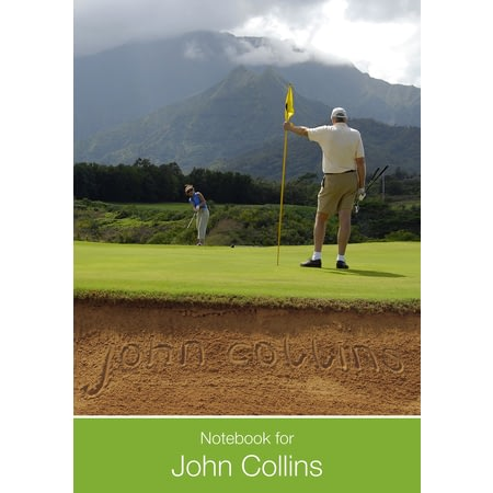 Personalised Ultimate Golf Notebook