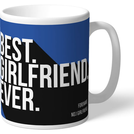 Personalised Sheffield Wednesday Best Girlfriend Ever Mug