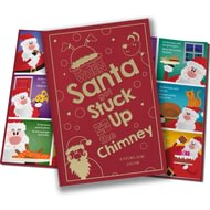Personalised When Santa Got Stuck Up The Chimney Classic Hardcover