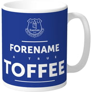 Personalised Everton FC True Mug