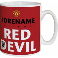 Personalised Manchester United Red Devil Mug