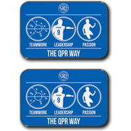 Personalised Queens Park Rangers FC Way Rear Car Mats