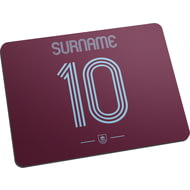 Personalised Burnley FC Retro Shirt Mouse Mat