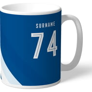 Personalised Reading FC Stripe Mug