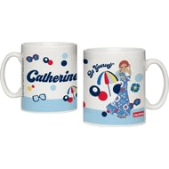 Personalised Riviera Beach Ceramic Mug