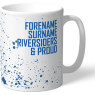 Personalised Blackburn Rovers FC Proud Mug