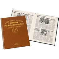 Personalised Houston Texans american NFL Football Newspaper Book