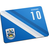 Personalised Huddersfield Town Stripe Mouse Mat