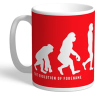 Personalised Liverpool FC Evolution Mug