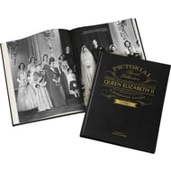 Personalised Queen Elizabeth Pictorial Edition Newspaper Book