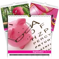 Personalsied All Things Pink Calendar - Any Start Date