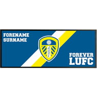 Personalised Leeds United FC Forever Regular Bar Runner
