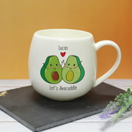 Personalised Let's Avo-cuddle Hug A Mug