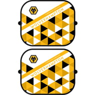 Personalised Wolves Patterned Pair of Car Side Window Sunshades