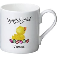 Personalised Easter Chick Ceramic Mug Balmoral Ceramic Mug
