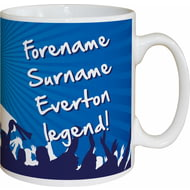 Personalised Everton FC Legend Mug