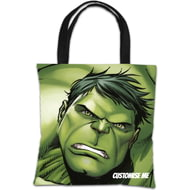 Personalised Marvel Avengers Assemble The Hulk Tote Bag