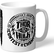 Personalised Marvel Thor Ragnarok Contest Badge Mug