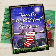 Personalised 'Twas The Night Before Christmas Story Book