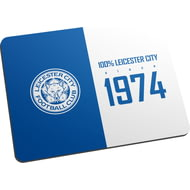 Personalised Leicester City FC 100 Percent Mouse Mat