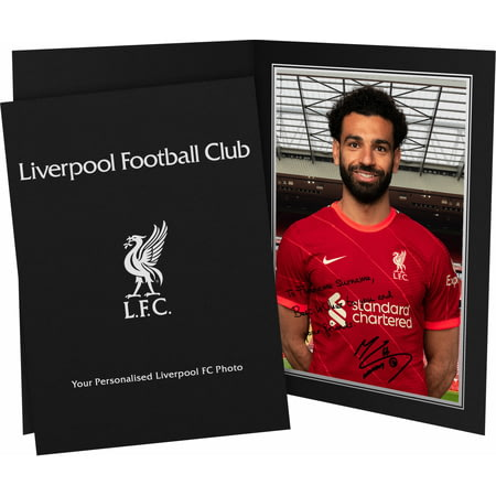 Personalised Liverpool FC Salah Autograph Photo Folder