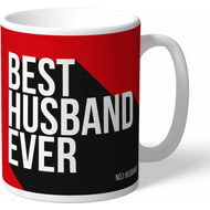 Personalised Manchester United Best Husband Ever Mug