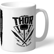 Personalised Marvel Thor Ragnarok Thor Badge Mug